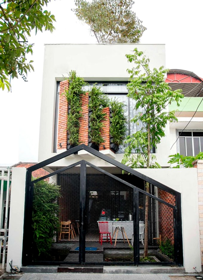 Mau Nha 2 Tang Ket Hop Kinh Doanh Quan Cafe