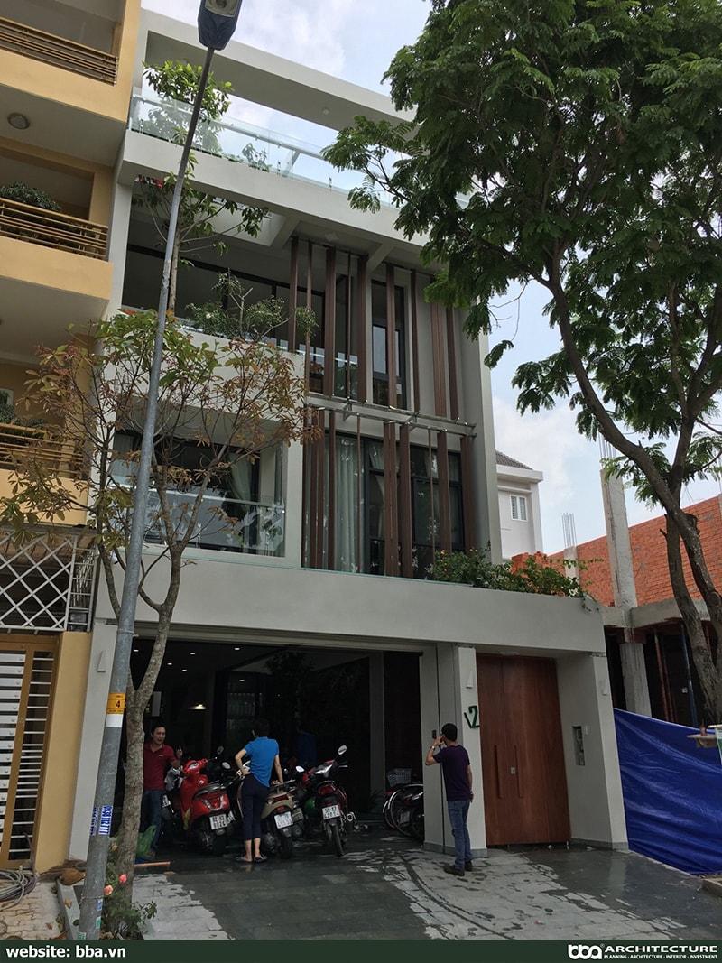 Thi Cong Xay Dung Biet Thu Pho Hien Dai 4 Tang Conic 6