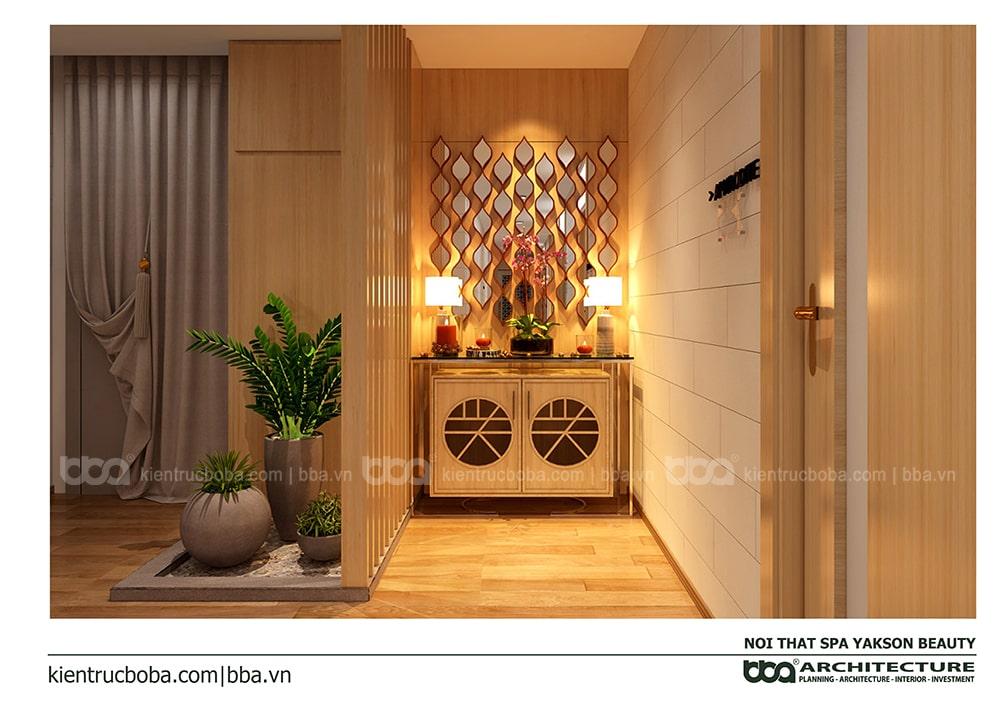 Thiết kế spa Yakson Beauty Nguyễn Thị Minh Khai - Quận 3