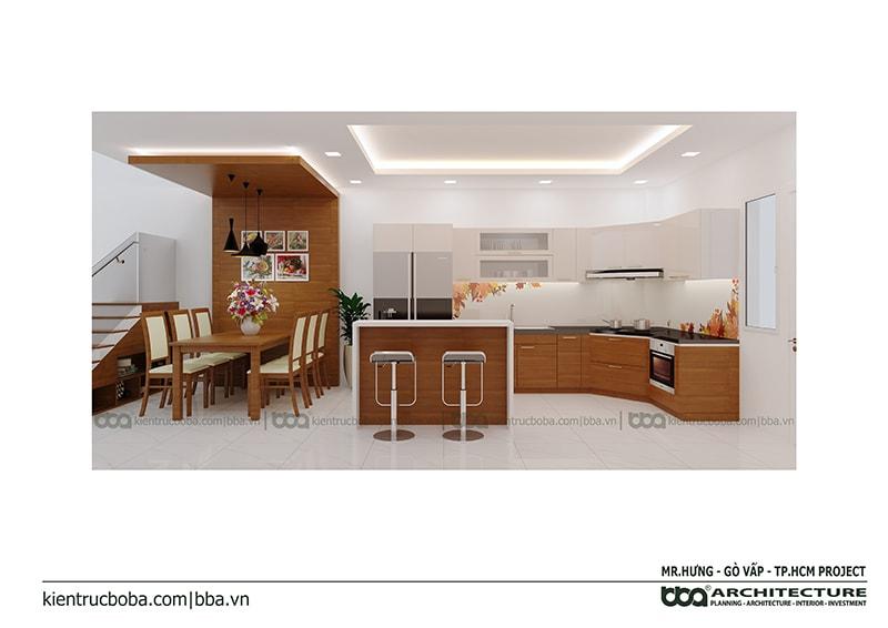 Thiết kế nội thất Mr Hưng Lavila - Gò Vấp