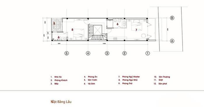 Ban Ve Thiet Ke Nha Ong 2 Tang 1 Tum 5x18 Hien Dai 2