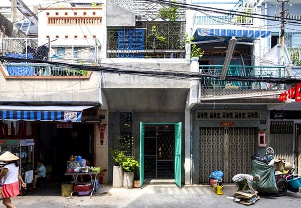 Mau Thiet Ke Nha Ong 45m2 Mat Tien Rong 3m