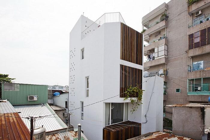 Mẫu nhà phố 4x18