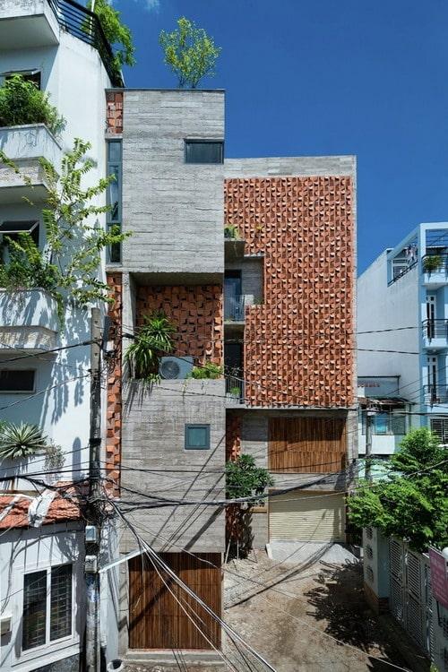 Mẫu nhà phố 5 tầng