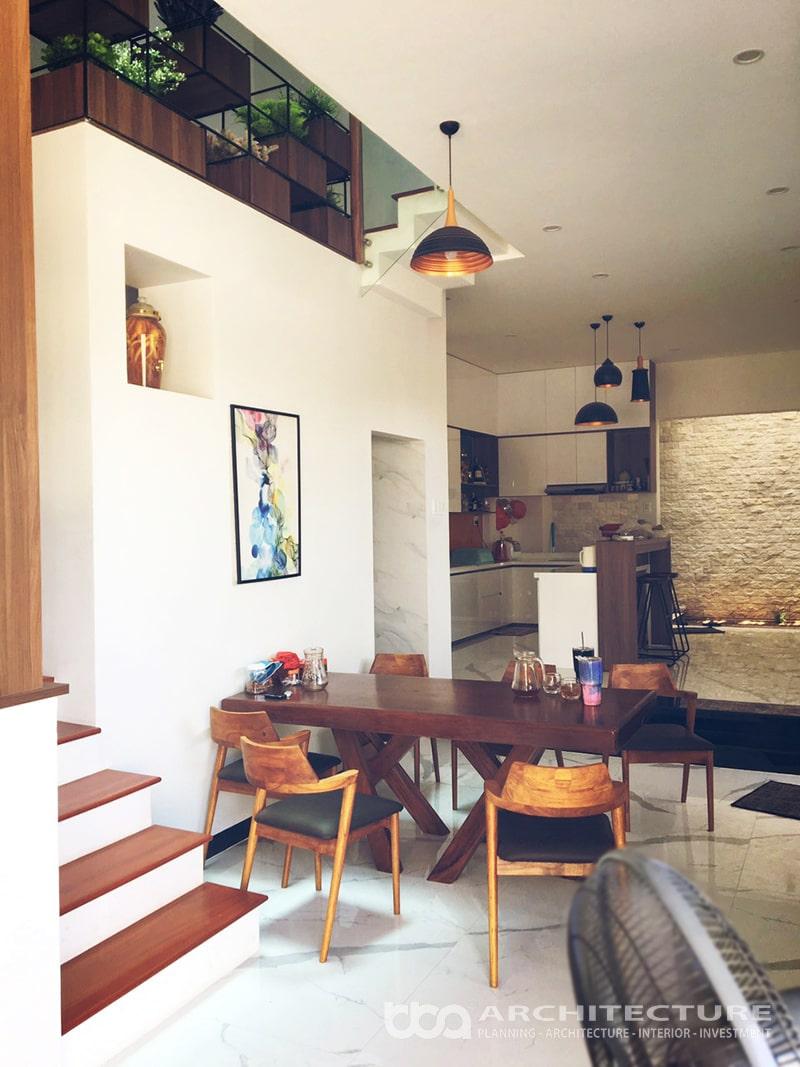 Thi công biệt thự phố 3 tầng hiện đại - Bình Thuận