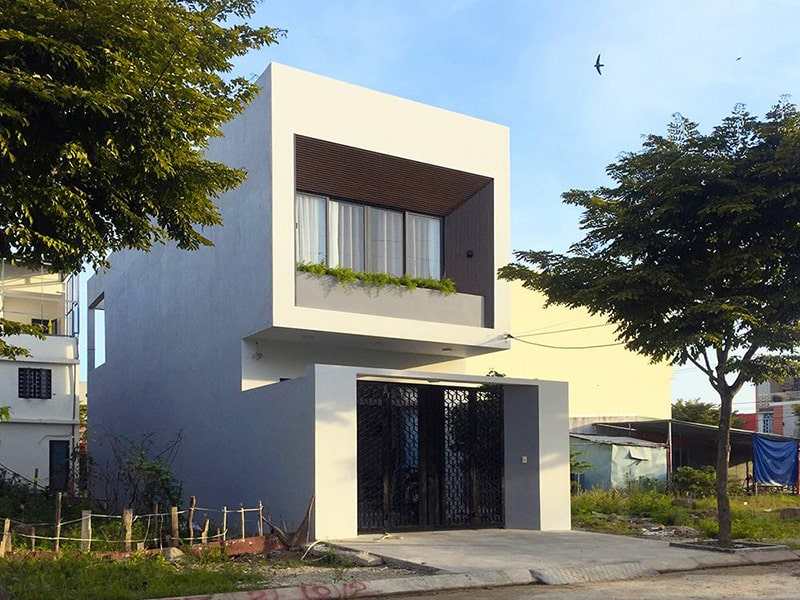 Thiết kế nhà ngang 6m dài 17m