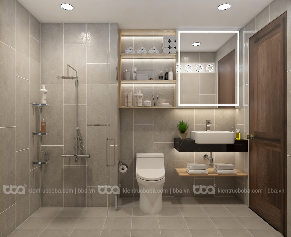 Thiết kế nội thất căn hộ chung cư Conic Bình Chánh