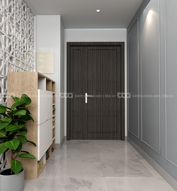 Thiết kế nội thất căn hộ chung cư Green Valey Quận 7
