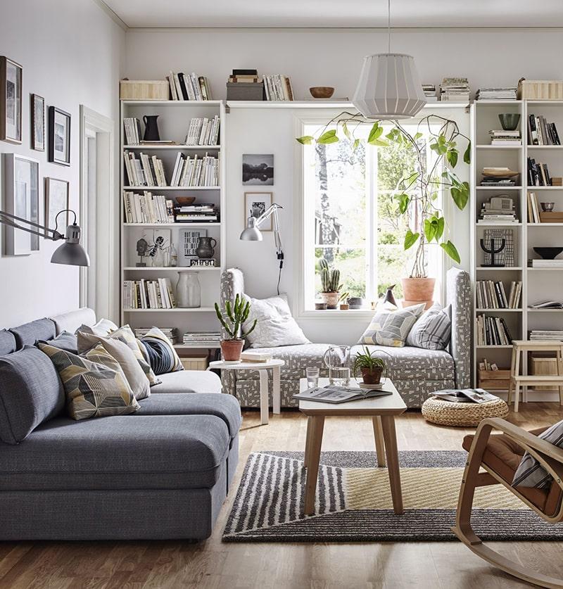 Mẫu kệ trang trí phòng khách đẹp