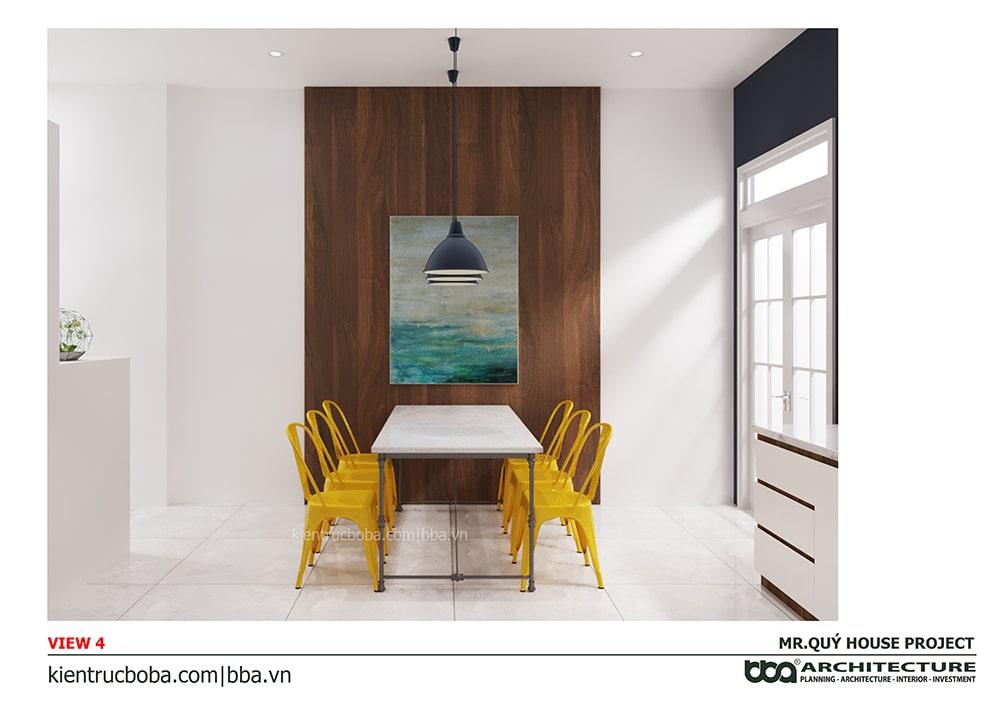 Thiết kế nội thất nhà nang 4m dài 15m