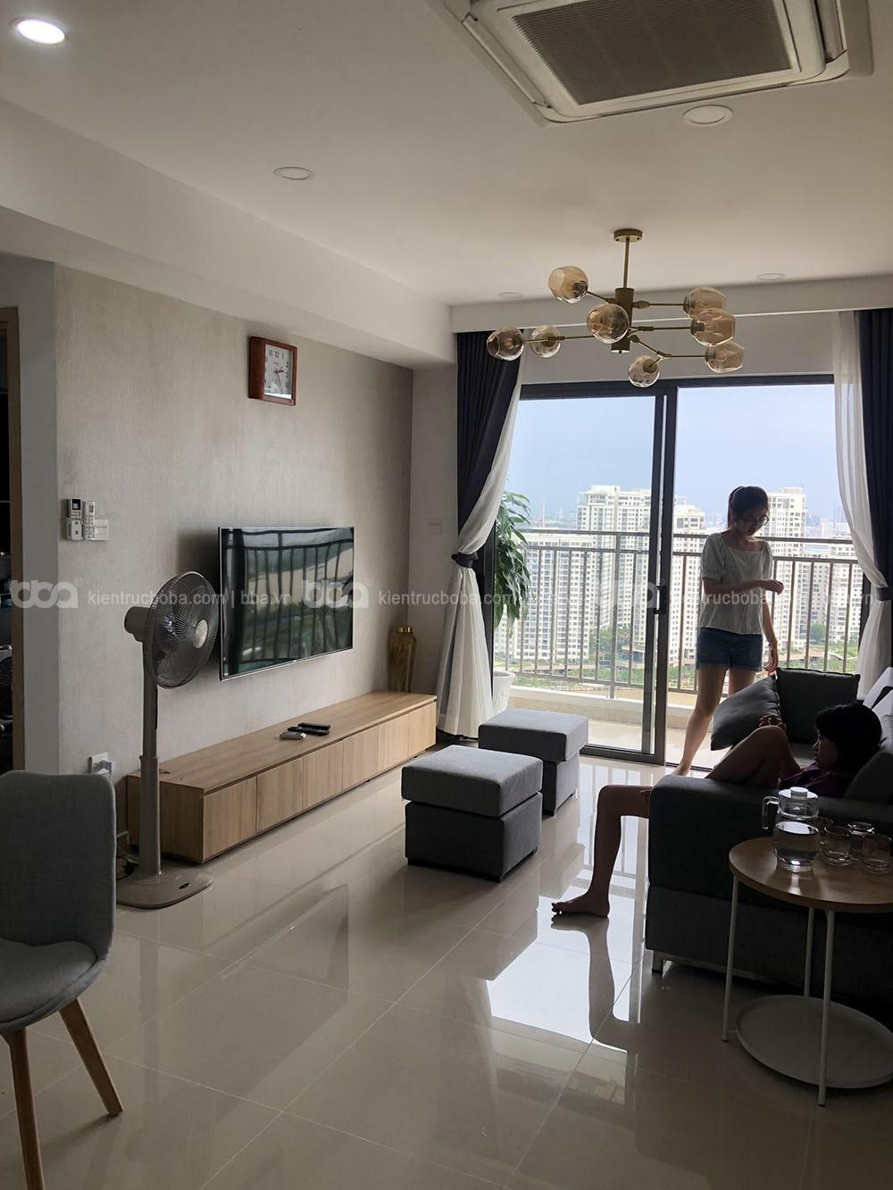 Thi công nội thất căn hộ chung cư The Sun Avenue | Mr. Trường | Quận 2