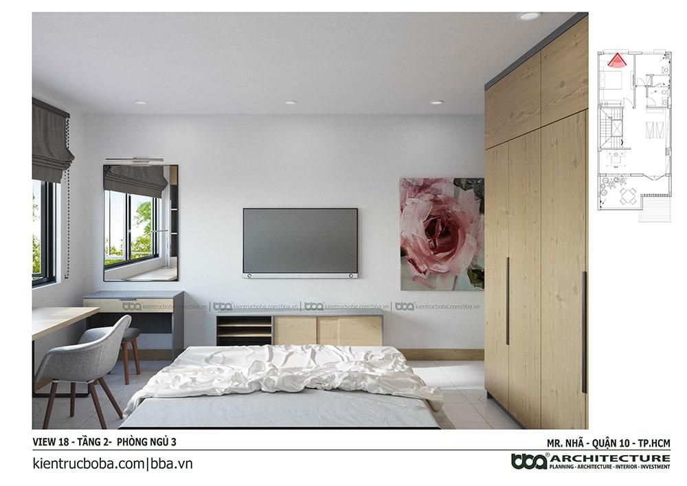 Thiết kế nội thất nhà Mr. Nhã | Quận 10 | Tp.HCM