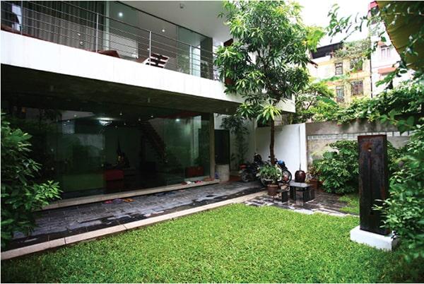 Thiết kế nhà vườn trong hẻm