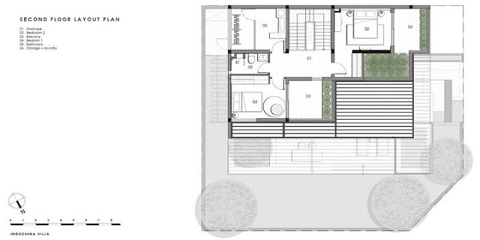 Biệt thự 3 tầng hiện đại
