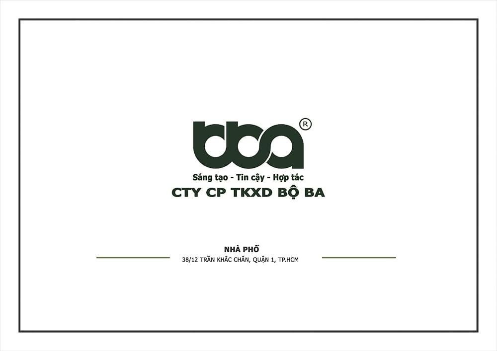 Thiết kế nội thất biệt thự phố anh Việt | Quận 1 | Tp.HCM