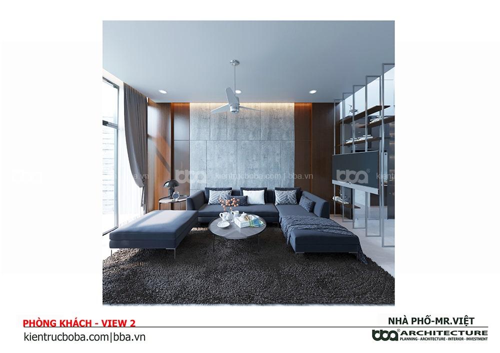 Thiết kế nội thất nhà phố anh Việt | Quận 1 | Tp.HCM