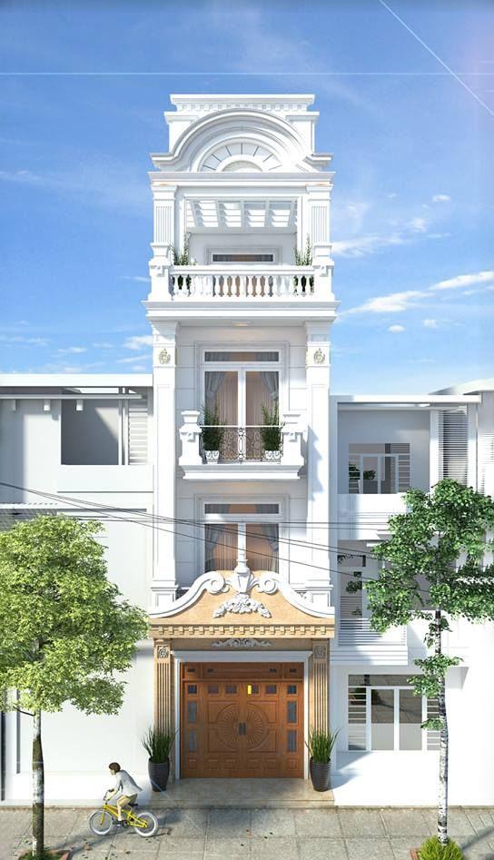 20 mẫu nhà tân cổ điển đẹp xuất sắc được giới kiến trúc đánh giá cao 3