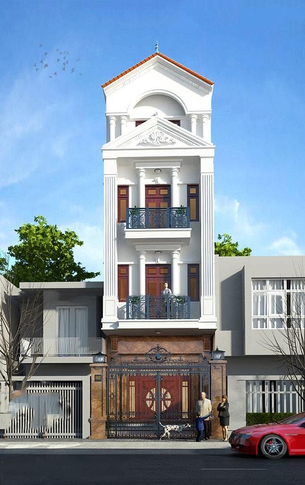 20 mẫu nhà tân cổ điển đẹp xuất sắc được giới kiến trúc đánh giá cao 1