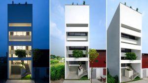Mẫu nhà phố 5x15m
