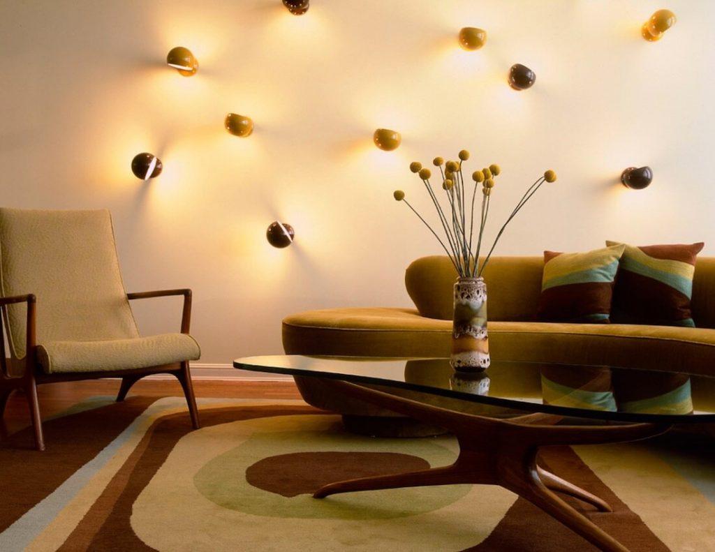 Mẫu đèn trang trí phòng khách đẹp