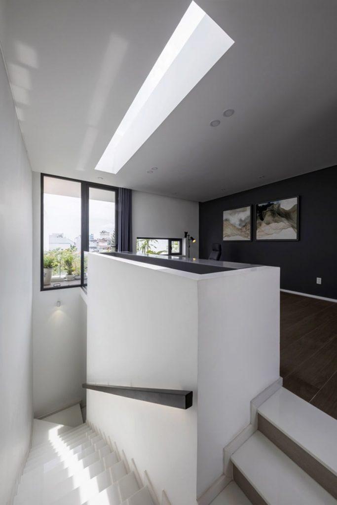 Biệt thự mái bằng hiện đại