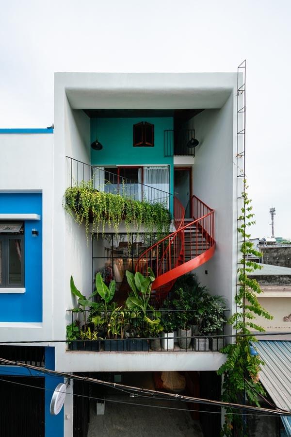 Nhà phố để ở kết hợp cho thuê studio